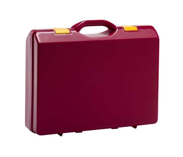 Kunststoffkoffer Rot