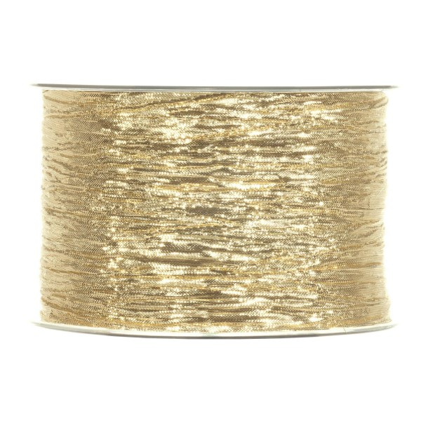 "Geschenkband ""Crashband Metallic"" Gold"