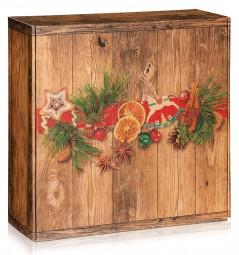 """Geschenkbox """"Weihnachtsmarkt"""" groß"""
