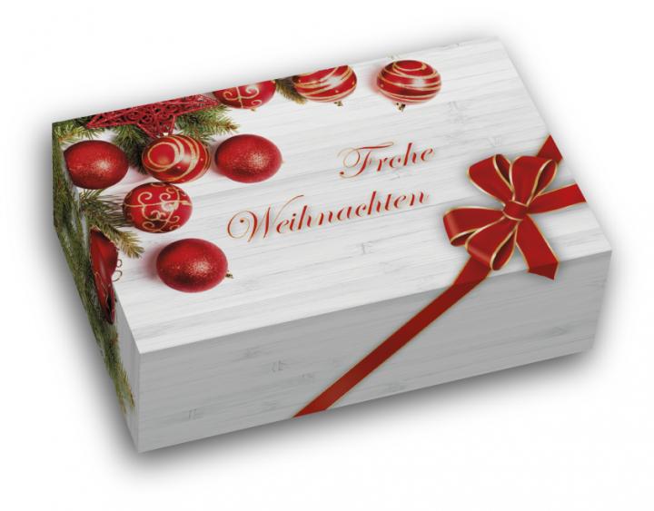 geschenkkarton frohe weihnachten geschenkboxen. Black Bedroom Furniture Sets. Home Design Ideas