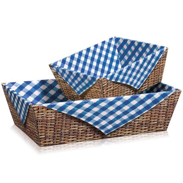 Präsentkorb leer bspw. für ein Picknick.