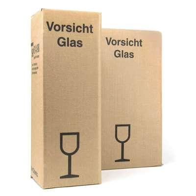 Postversandkarton für Champagner-Verpackungen