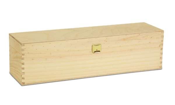 1er Holzkiste mit Klappdeckel