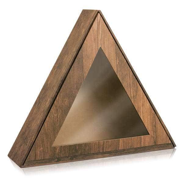 """Geschenkbox """"Dreieck Vintage"""""""
