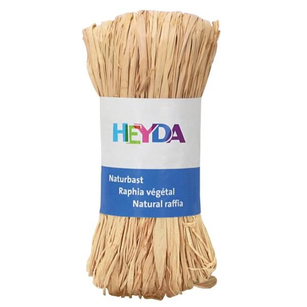 """Heyda Naturbast """"Raphia"""", 50g Natur"""
