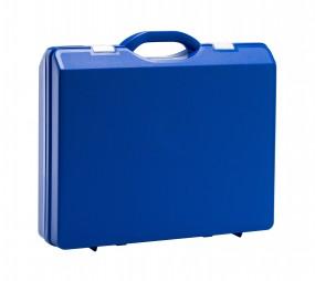 Kunststoffkoffer Blau