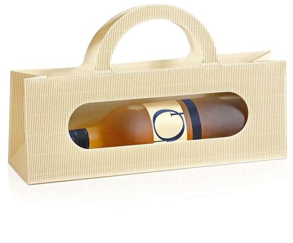 Taschenverpackung Style Creme/Gold