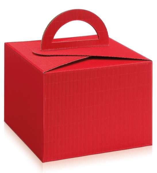 """Tragebox """"Rot"""" offene Welle"""