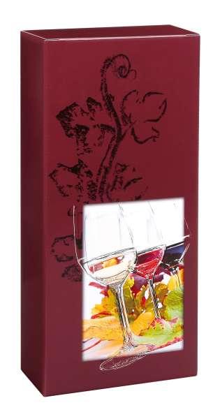 """Weinverpackung Faltschachtel """"Vinothek"""""""