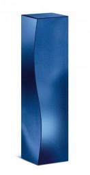 Faltschachtel Skulptur Blau