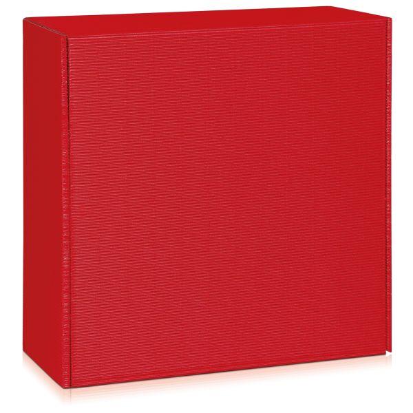 Geschenkbox Groß in Rot.