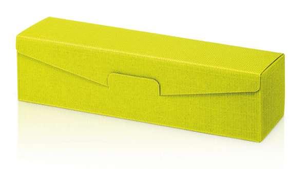 Präsentverpackung offene Welle Limette