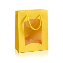 "Papiertüte ""Aspekt"" mini in Grün, Gelb, Orange"