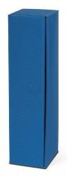 Präsentverpackung offene Welle Azurblau