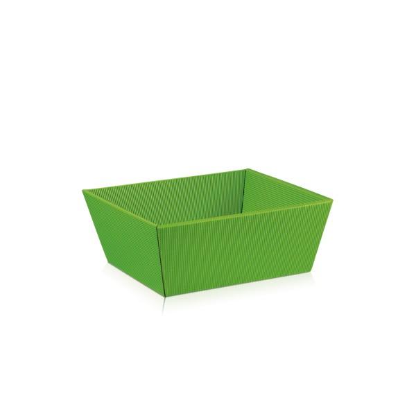 """Präsentkorb """"Hellgrün"""" klein"""