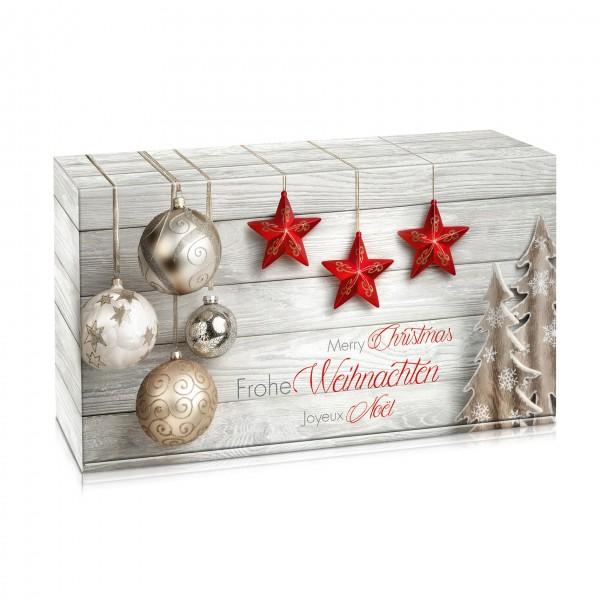 geschenkverpackung frohe weihnachten mit motiv. Black Bedroom Furniture Sets. Home Design Ideas