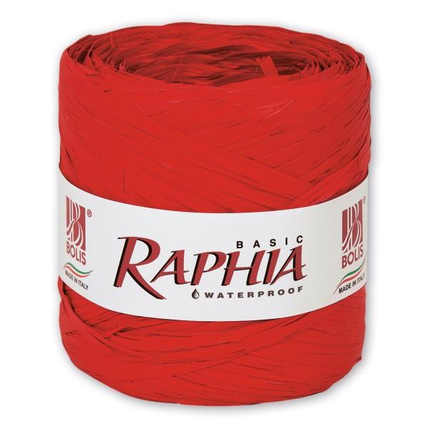 "Dekobast ""Raphia Basic"" Rot"