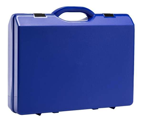 Kunststoffkoffer Navy-Blau