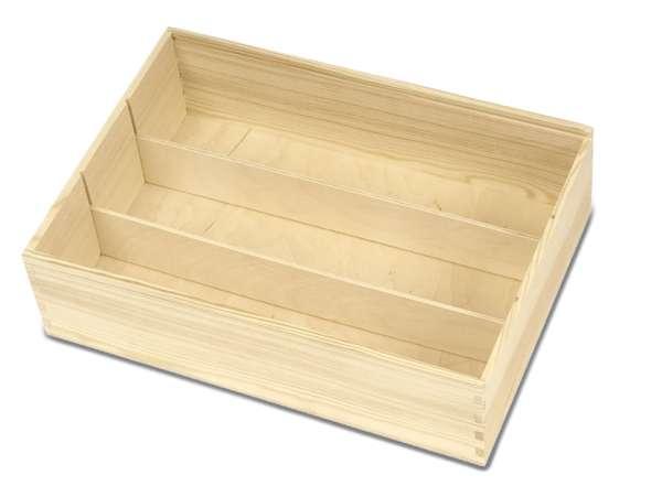 Trennsteg für Holzkiste