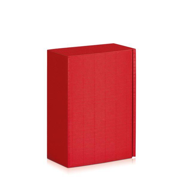 Geschenkbox klein in Rot.