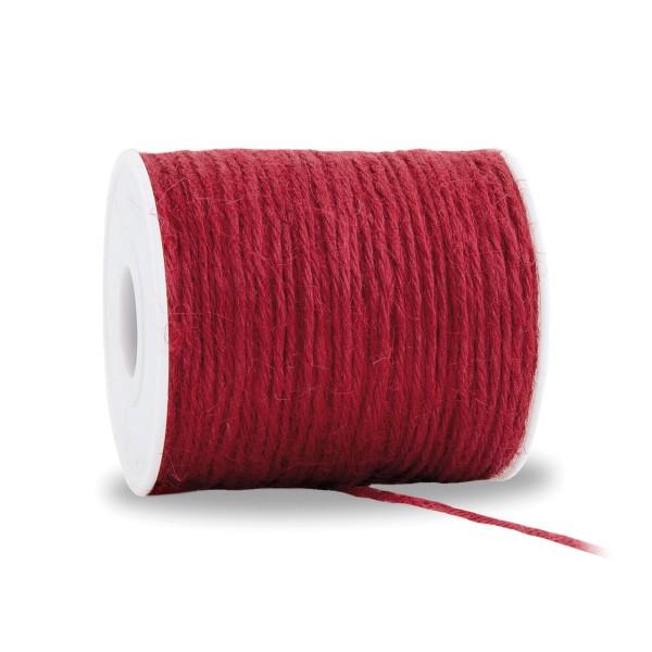 Jute-Kordel in Rot