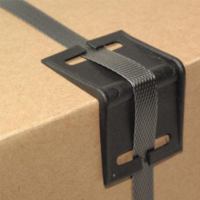 Kantenschutz-Ecken mit Bandschlitzen