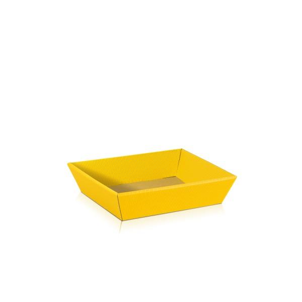"Präsentkorb ""Gelb"" flach"
