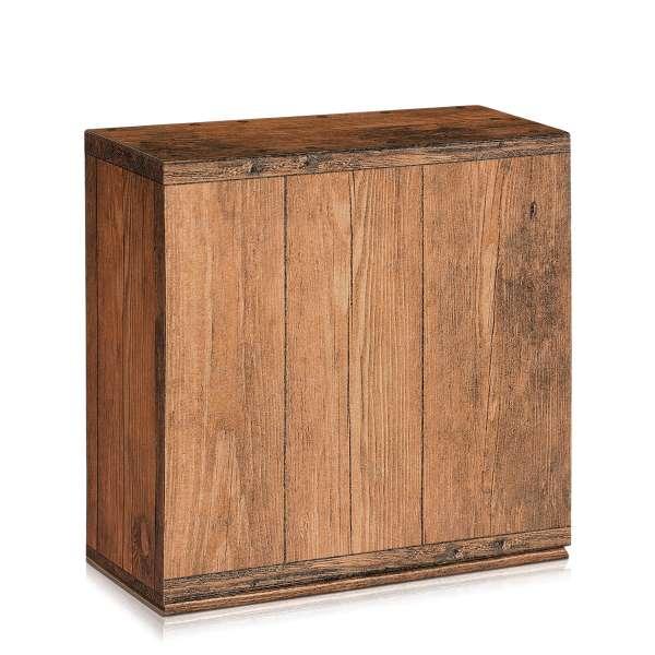 Geschenkbox in Holzoptik.