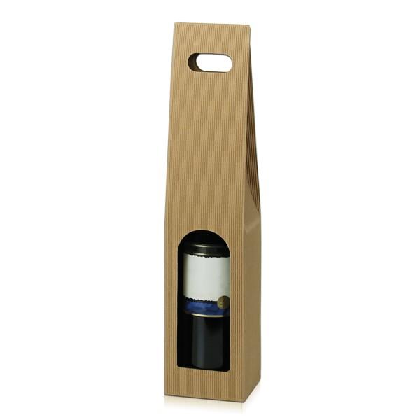 Tragekarton für 1 Flasche in Natura