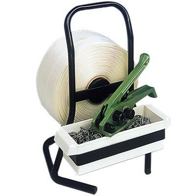 Abroller für Polyester-Kleinrollen, Tragbar