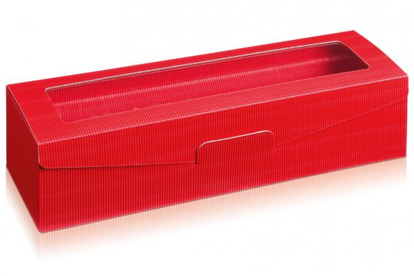 """Geschenkverpackung """"Passepartout"""" in Rot"""