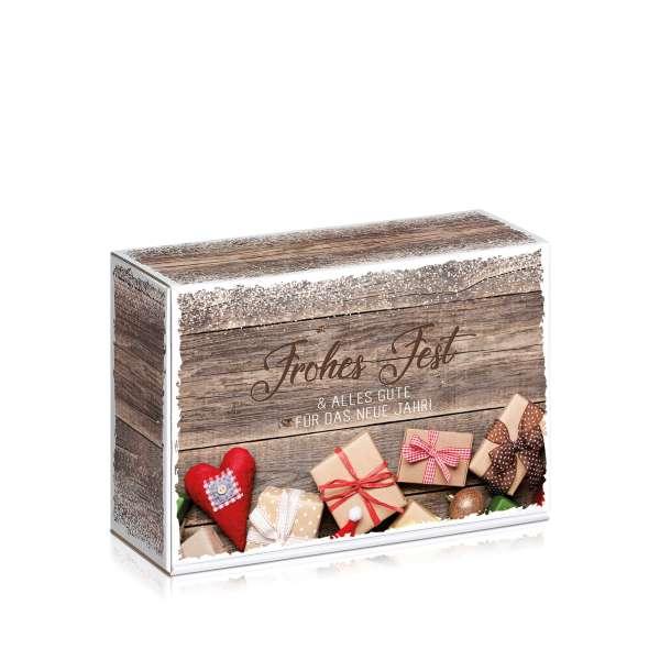Kleine Geschenkbox für Weihnachten.