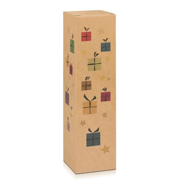 "Weinverpackung Faltschachtel ""Christmas Surprise"""