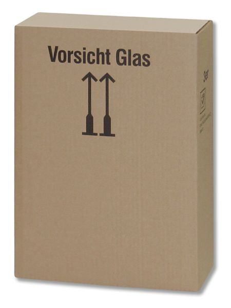 3er Flaschenversandkarton