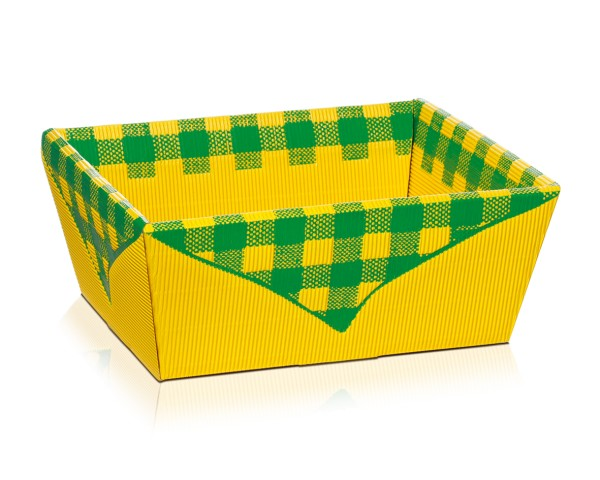 """Präsentkorb """"Picknick"""" Gelb"""