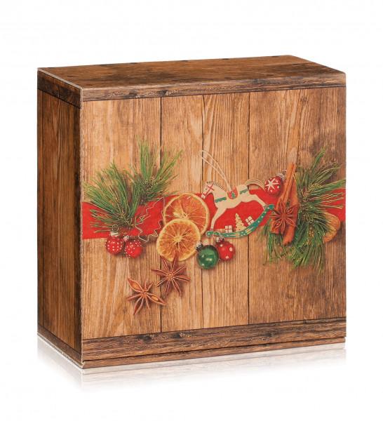 """Geschenkbox """"Weihnachtsmarkt"""" mittel"""