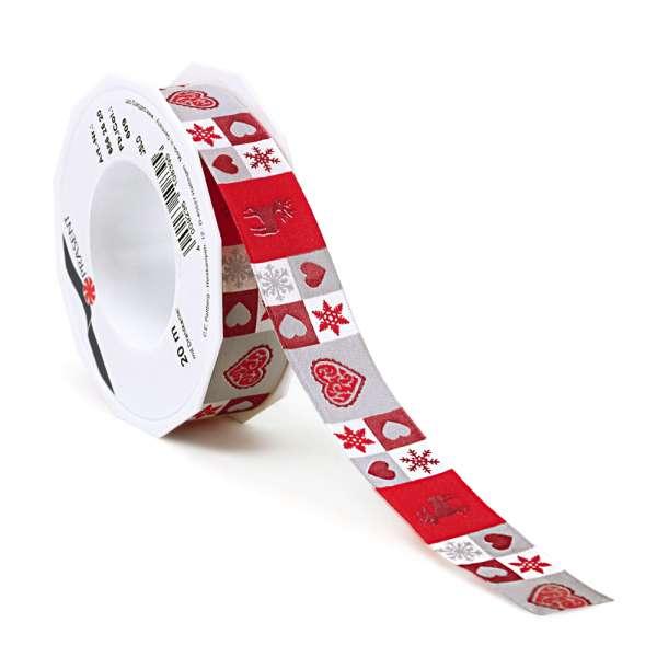 """Geschenkband """"Oslo"""" 25mm breit"""