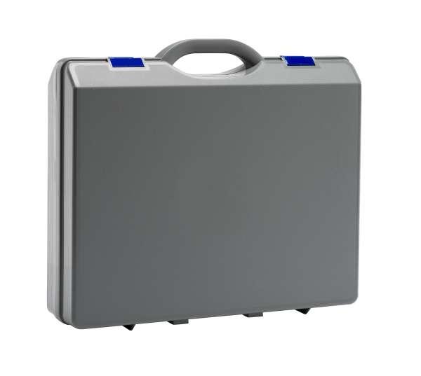 Kunststoffkoffer Grau