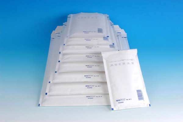 Luftpolster-Versandtaschen weiß