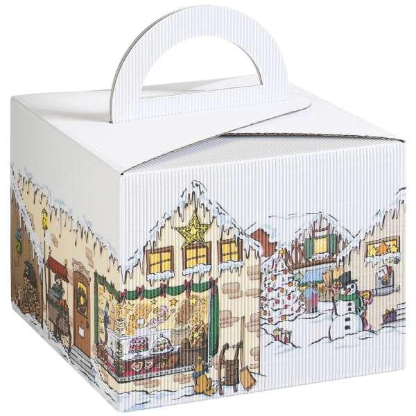 """Tragebox """"Weihnachtsdorf"""""""