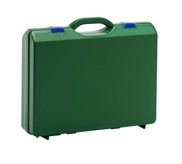 Kunststoffkoffer Grün