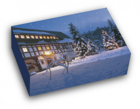 """Stollenkarton """"Weihnachtshaus""""- Anbruchmenge"""